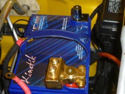 画像2: Kinetik(キネティック)KHC600〜1800シリーズ用ターミナルアダプター&ポストKHC-TP/KHC-SPA
