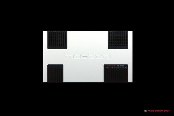 画像1: MOSCONIアンプ AS 200.2 white (1)