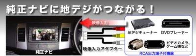 画像1: トヨタ車汎用 映像入力アダプター AVC38