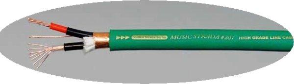 画像1: ナノテック・システムズ/RCAケーブルMusic Strada #207(1ch 2芯)高音質!店長おすすめ♪ (1)