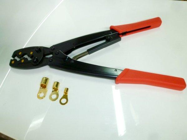 画像1: 【レンタル工具】端子かしめ圧着工具(2〜8AWG用)往復送料込み (1)