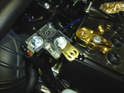 画像3: 三菱/トヨタ/ニッサン/スズキ/マツダ/ホンダ DIN/JISバッテリーターミナル連結プレートSK200P