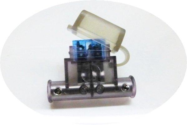 画像1: オーディオテクニカ/簡易防水型 カバー付き平型/ATC/ATO/オートヒューズ用ヒューズホルダーTFH-RATC(送料200円〜) (1)