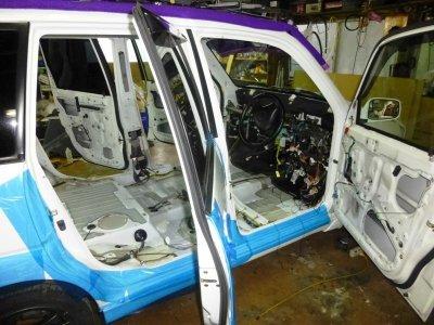 画像2: 車表面保護テープ(養生テープ)100mm幅