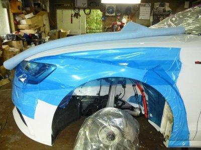 画像1: 車表面保護テープ(養生テープ)100mm幅