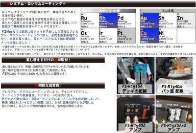画像2: 【F2 music】プレミアム・ロジウムコーティングATO(ATC)ヒューズFS-R1g 高音質♪
