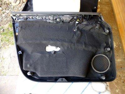 画像1: 吸音マットCSDB-5R(5mm厚)ドアトリム用ロードノイズ対策用 2枚組み