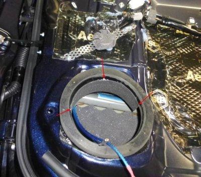 画像3: スピーカー後部の雨よけSRBシート4枚セット