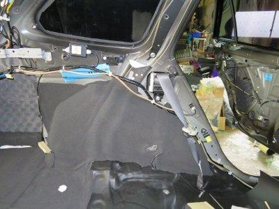 画像1: 遮音/吸音マットCSDB-10SF(10×400×1000×2枚)車内側ホイールハウスインナーに最適!