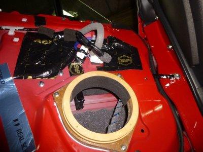 画像1: スピーカー後部の雨つゆ防止材 SRBシート2枚セット