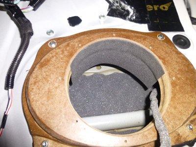 画像1: スピーカー後部の雨よけSRBシート4枚セット
