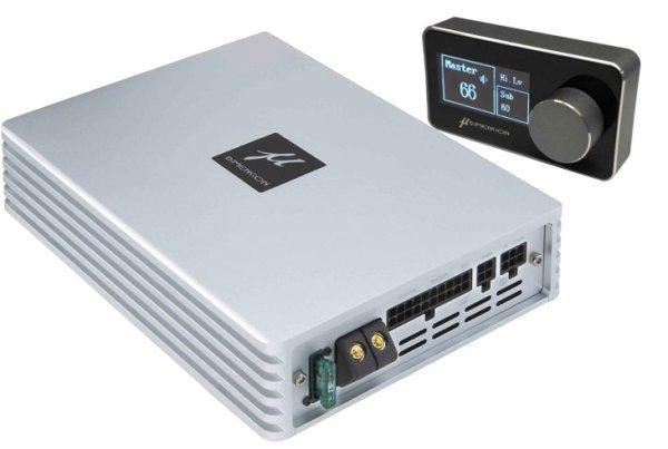 画像1: μ-DIMENSION/6chアンプ内蔵8chプロセッサーDSP-680AMP コントローラー付属 (1)