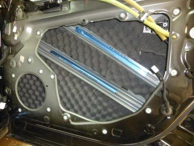 画像1: プロファイル加工ウレタン吸音シートSS1030/2枚入り、スピーカー背面の反射音対策(拡散)にどうぞ!