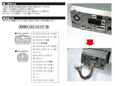 画像1: トヨタ純正オーディオ 延長ケーブル BH7