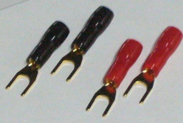 画像1: SHARKWIRE クワ型端子(Yラグ端子)16AWG-SPAD (1)