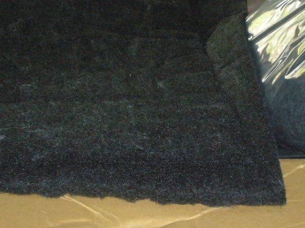 画像1: カーボンウール(炭素材)ハーフサイズ50×100cm 送料550円〜 (1)