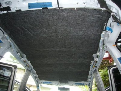 画像2: カーボンウール(炭素材)ボンネット遮熱/防音対策に・ 店長一押し!