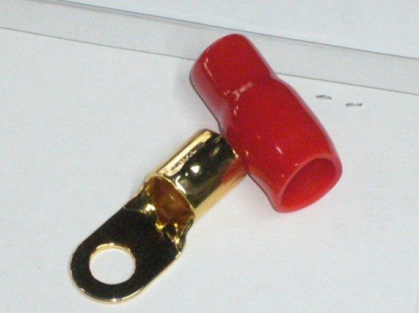 画像1: SHARKWIRE リング端子 2AWG/S 赤黒各1個入り (1)