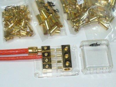 画像2: SHARKWIRE 配線ゲージ変換アダプターSBT-024/4→8AWG変換用